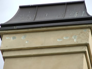 Allstate Animal Control photo woodpecker damage to stucco